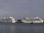 M/S Crystal Serenity (2003) & M/S Delphin Renaissance (2000)